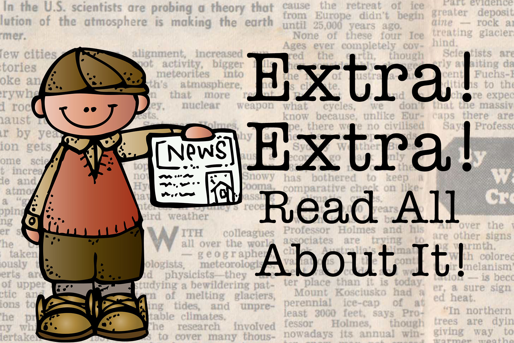 Extra Extra Read All About It A Freebie Included on Math Addition And Subtraction