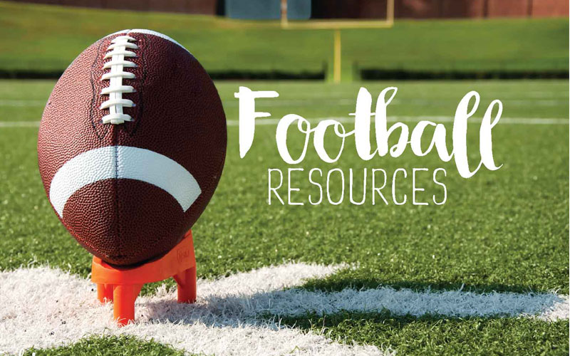 football resources header new